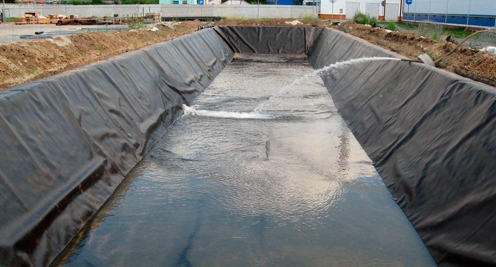 Геотекстиль для гидротехнических сооружений