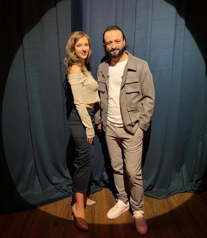 Авербух и Арзамасова впервые появились в эфире как пара
