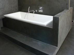 Микроцементирование в ванной