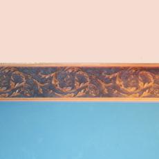Делаем бордюр наокрашенной стене