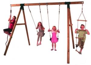 Детские игровые комплексы своими руками.
