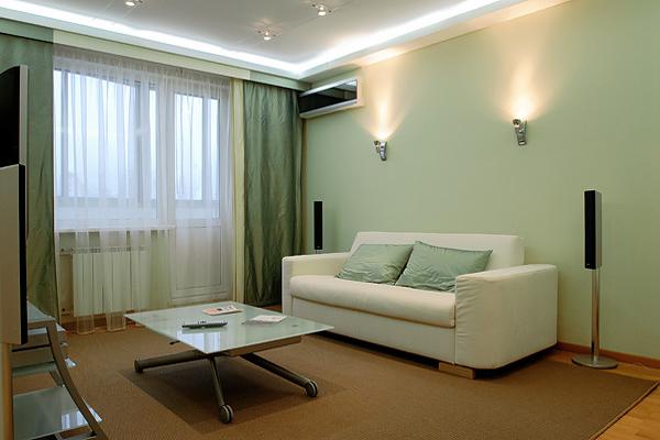 Дизайн комнаты в лиловом цвете