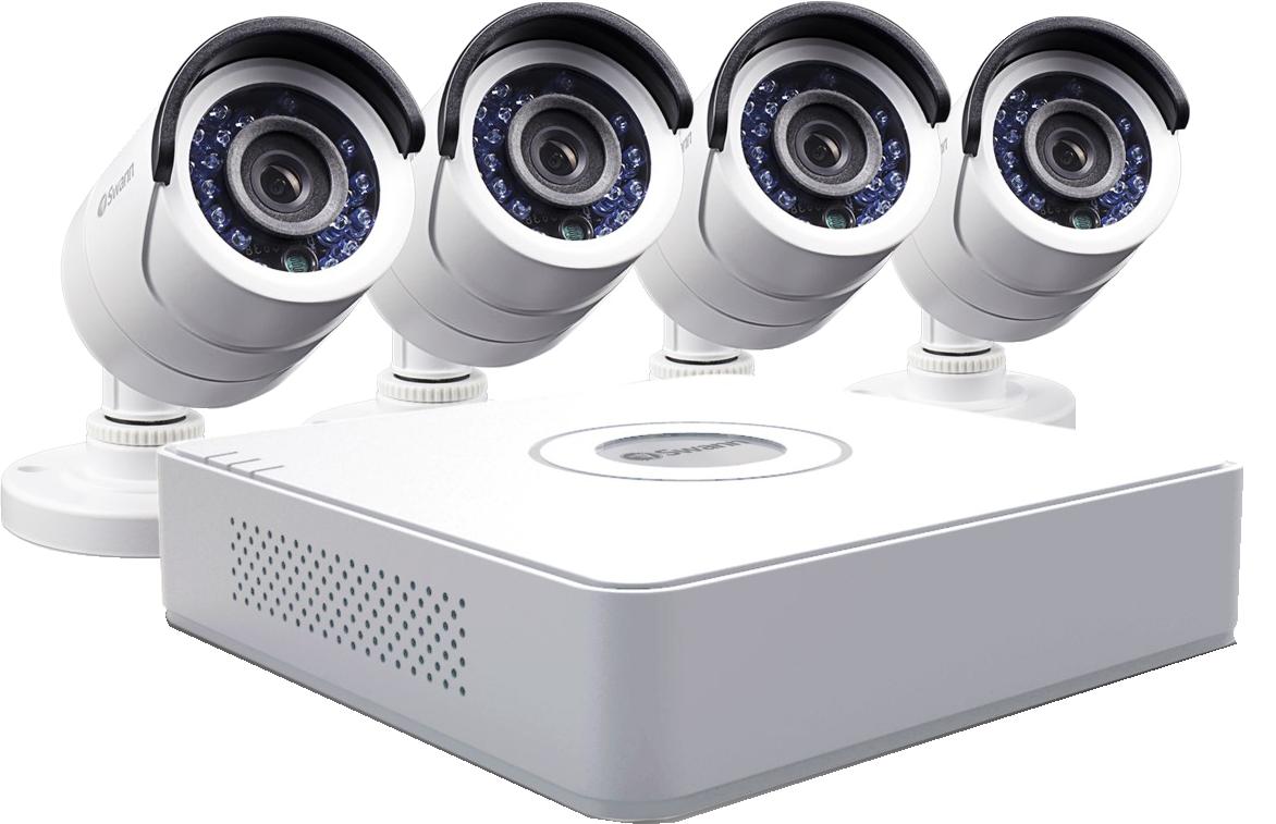 Готовые комплекты видеонаблюдения - простое решение безопасности