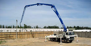 Выбор бетононасоса