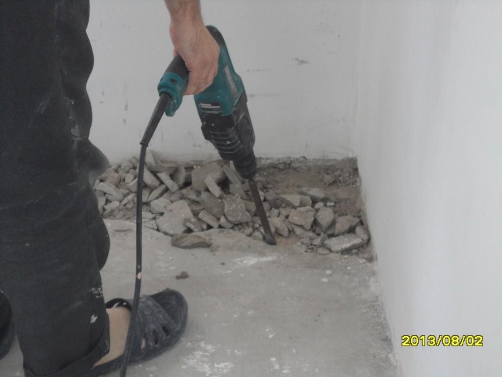 Как отремонтировать старую стяжку