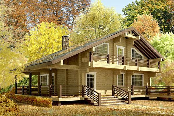 Как построить дом осенью