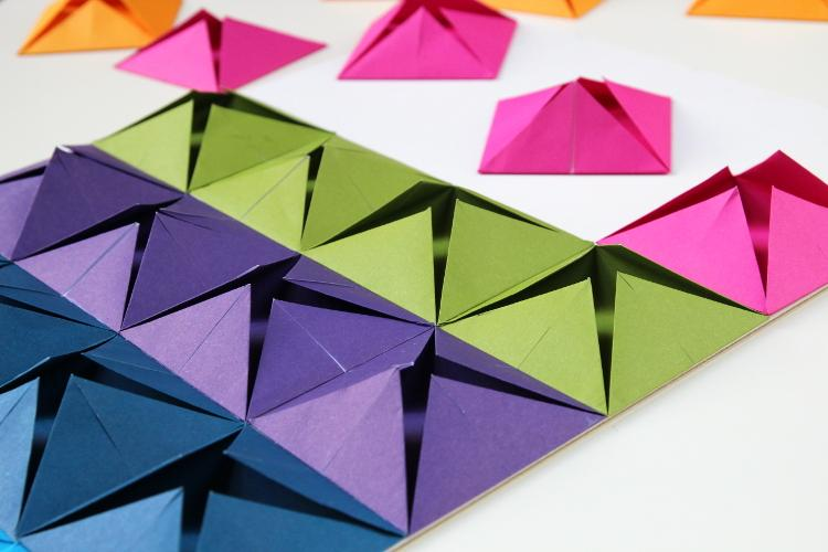 Как сделать панно из бумаги