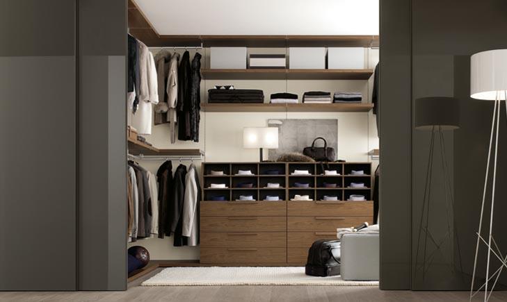 Как спалнировать гардеробную