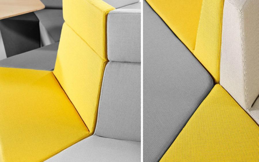 Модульный диван с неограниченным количеством вариантов