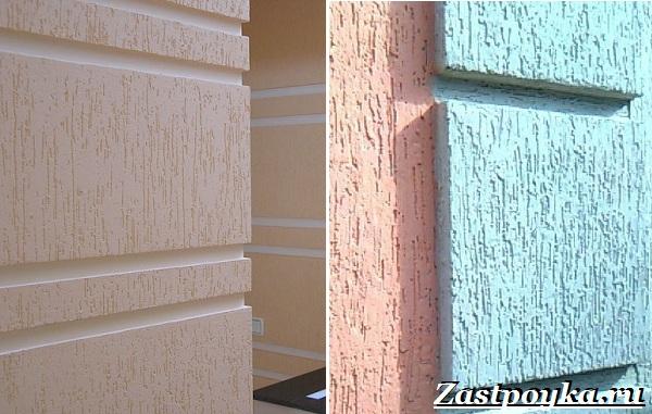 Декоративная штукатурка стен её особенности и применение