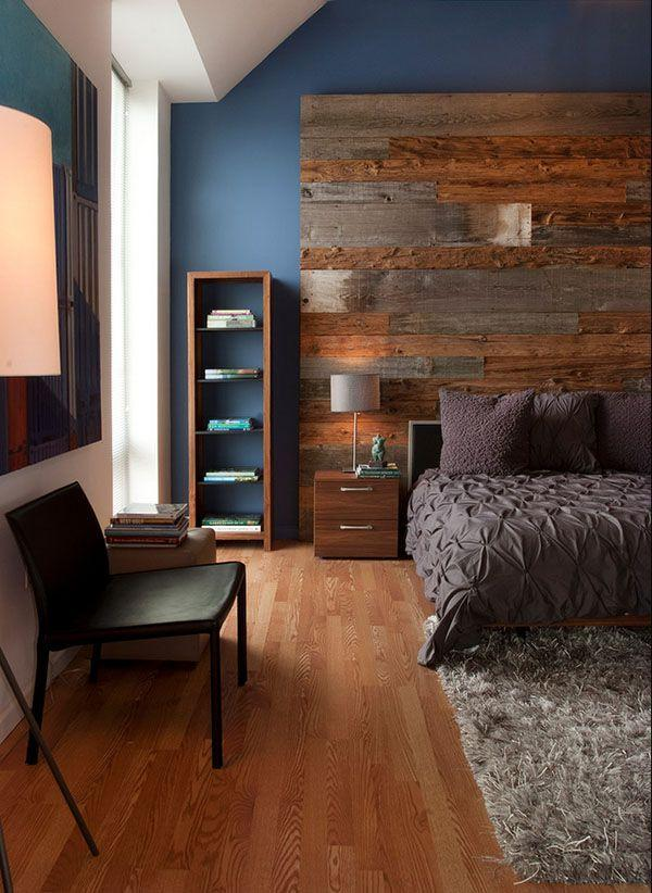 Преображаем интерьер с помощью деревянной стены