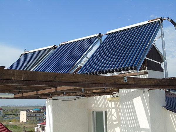 Солнечные коллекторы - экологически чистые и неиссякаемые источники энергии