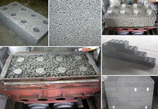 Подбор состава крупнопористого бетона. Методы определения состава