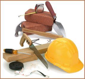 основные строительные материалы и инструменты