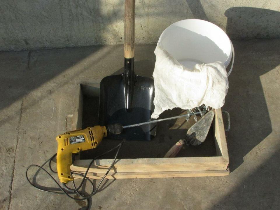 Технология приготовления раствора для кладки печей своими руками