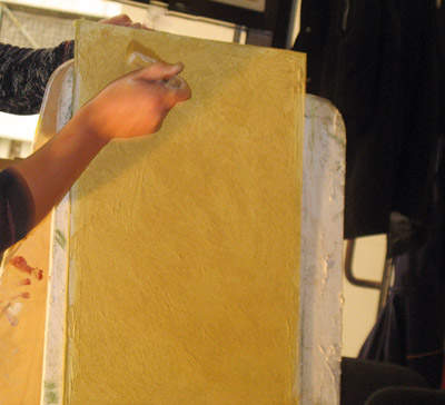 Учимся наносить декоративные покрытия для стен.