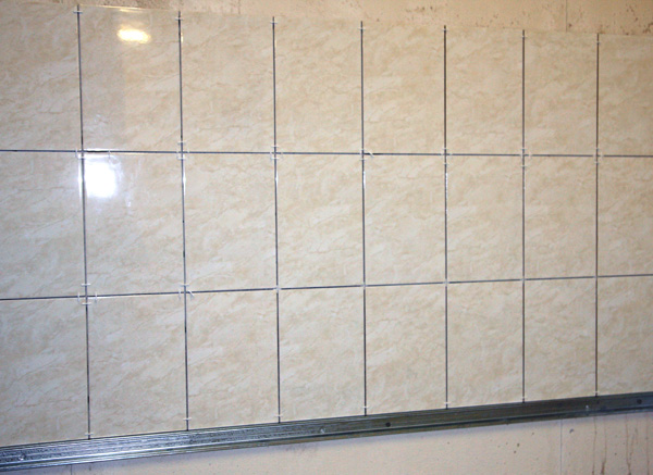 Укладка плитки на стену. Мастер-класс для начинающих